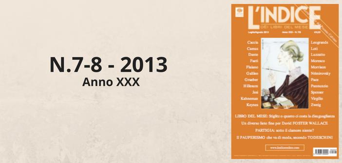 Luglio-agosto 2013 - Sommario