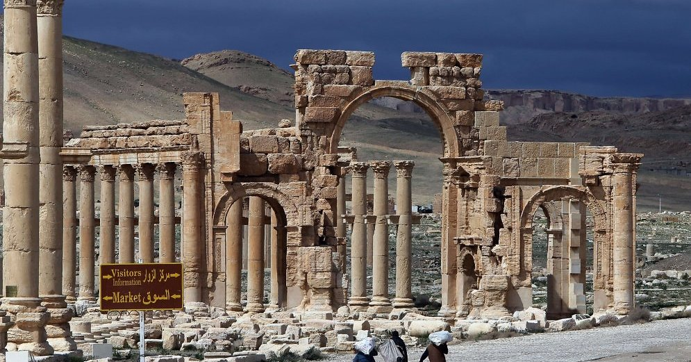 Città archeologica di Palmira, Siria