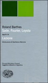 Ronald Barthes - Sade, Fourier, Loyola