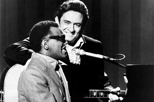 Ray Charles e Johnny Cash