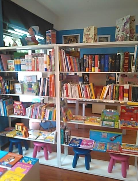 La libreria BeBook di Saronno