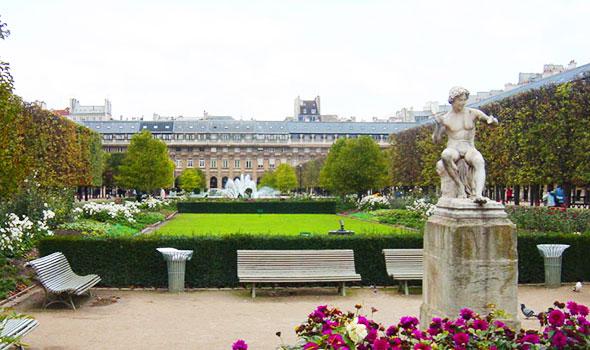 Una veduta del Palais Royal