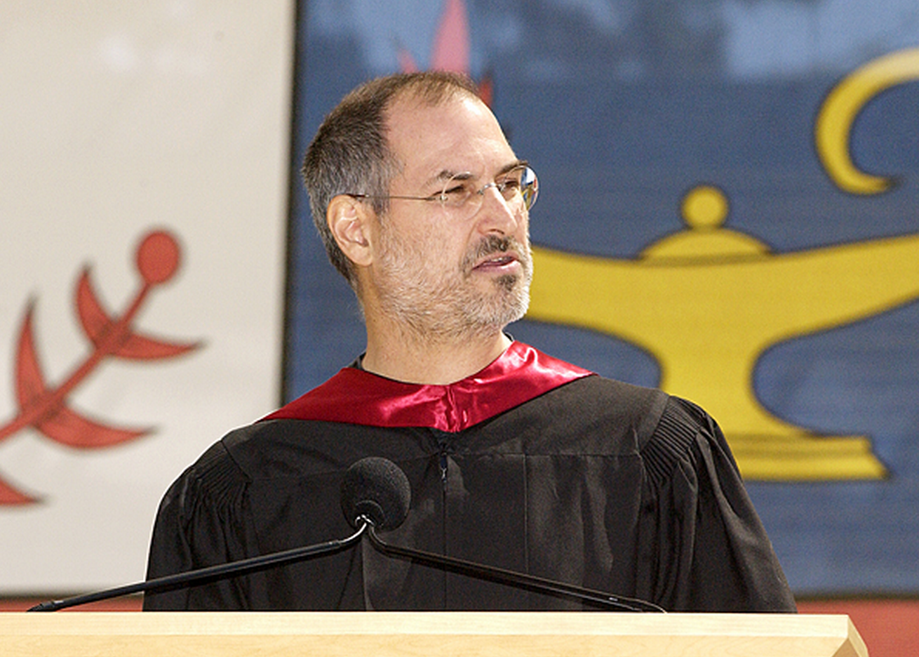 Steve Jobs alla Stanford University