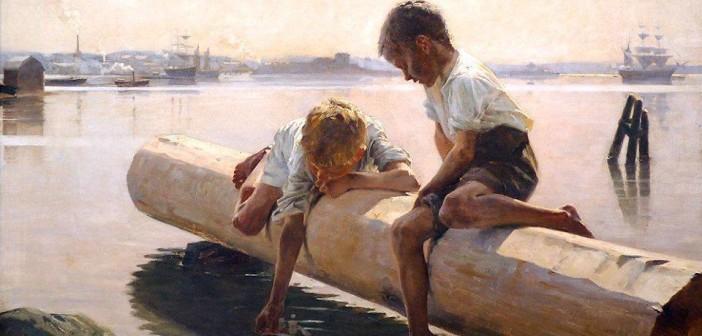 AlbertEdelfelt.Little Boat.1884
