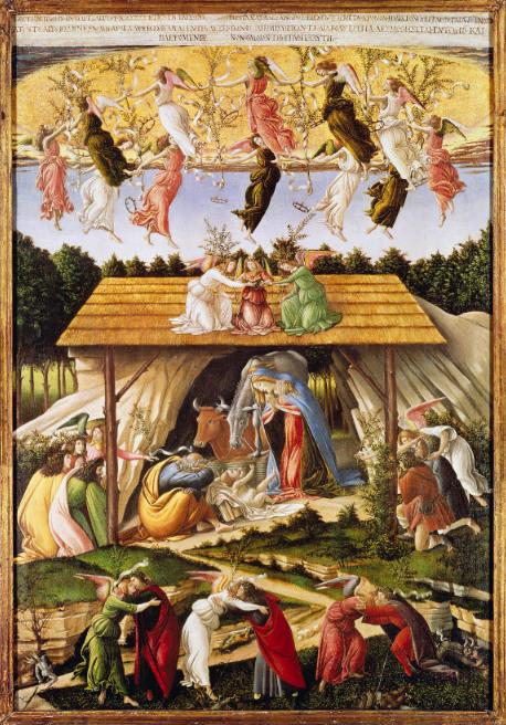 Sandro Botticelli - Natività mistica