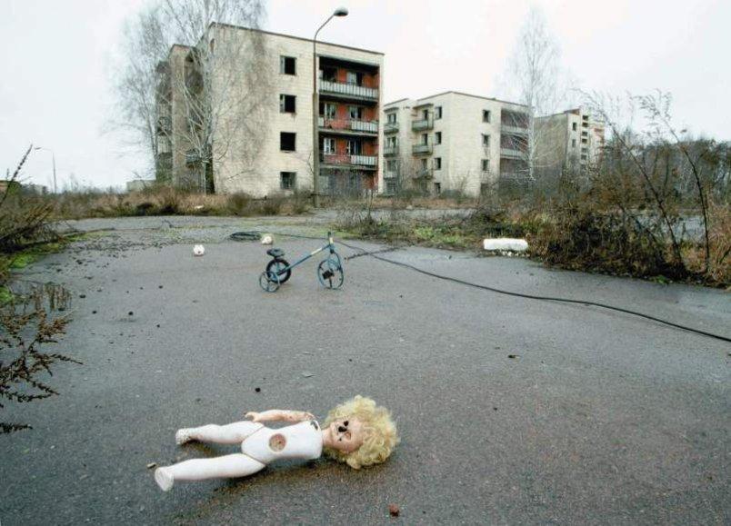 Un'immagine di Chernobyl