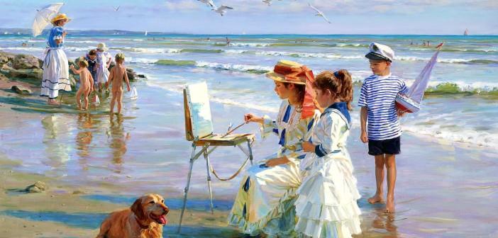 Alexander Averin, Impressionista russo