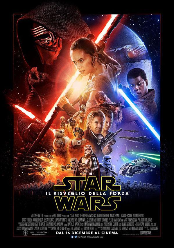 Star Wars - Il risveglio della forza - Locandina italiana