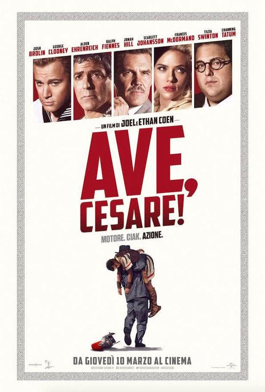 Ave, Cesare - Locandina italiana