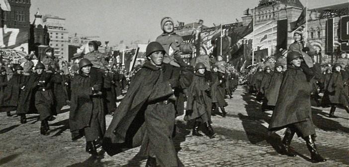 Uno scatto di Dmitri Baltermants, reporter di guerra sovietico