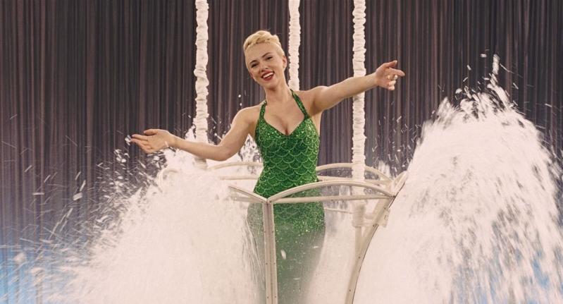 Scarlett Johansson in una scena del film