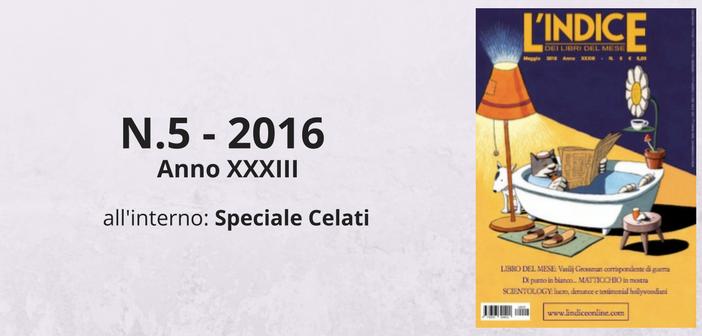 Maggio 2016 - Sommario
