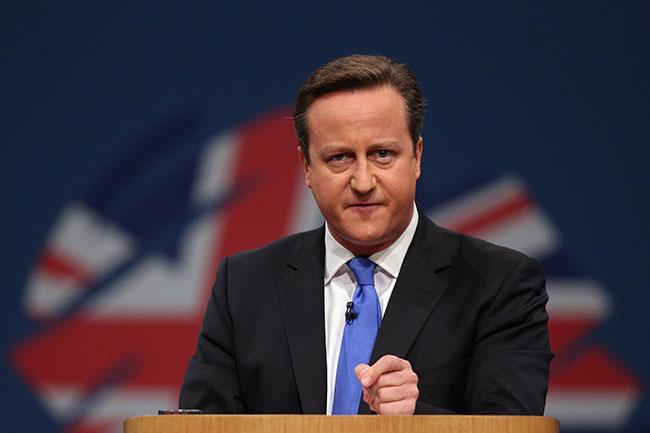 L'ex Primo ministro inglese David Cameron