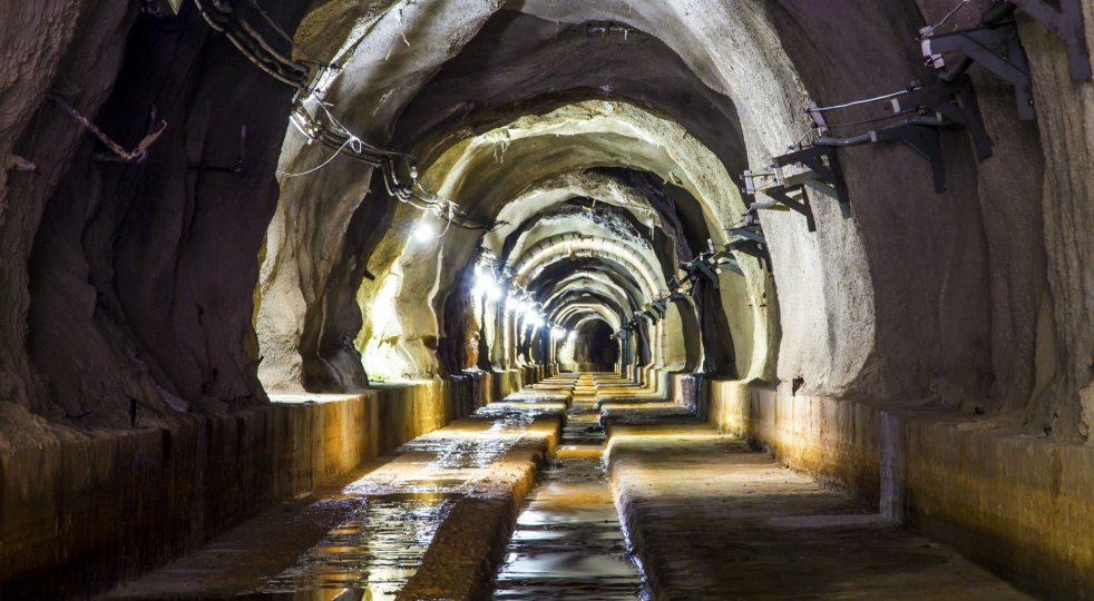 Complesso minerario abbandonato