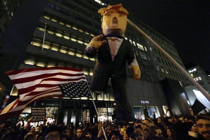 Proteste contro l'elezione di Donald Trump