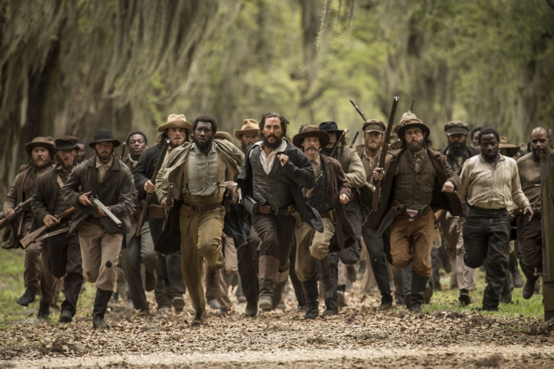 Free State of Jones - Una scena del film
