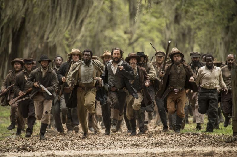 Free State of Jones - Una scena del film