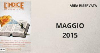 maggio 2015 - area riservata