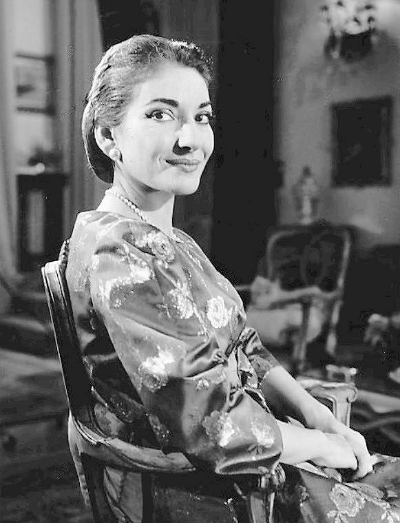 Maria Callas nel 1958