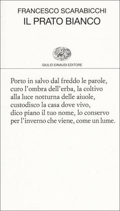 Francesco Scarabicchi - Il prato bianco