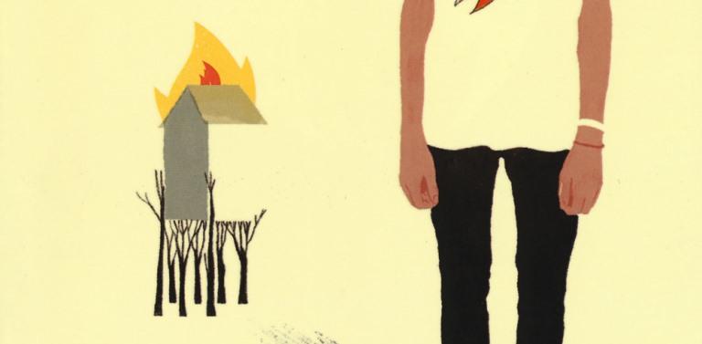 Lorenza Ghinelli - Anche gli alberi bruciano