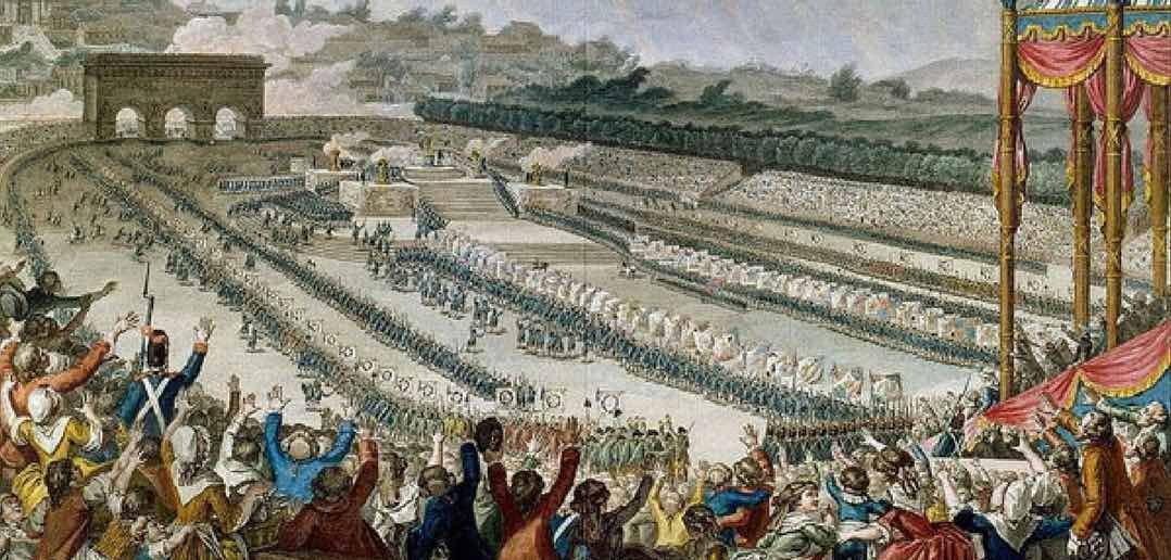 Brissot e Robespierre - Discorsi sulla guerra
