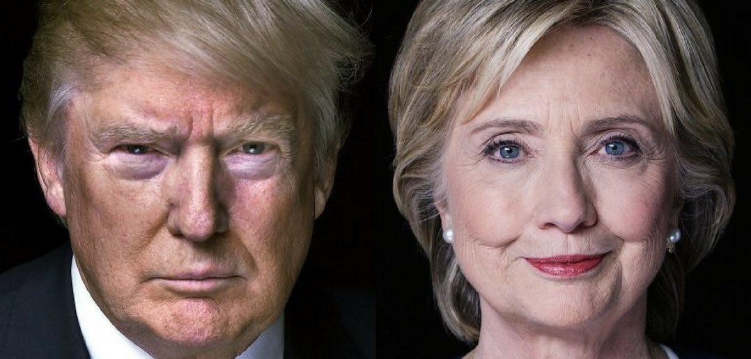 Donald Trump e Hillary Clinton