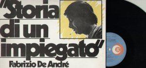 Il '68 in musica: Fabrizio De André