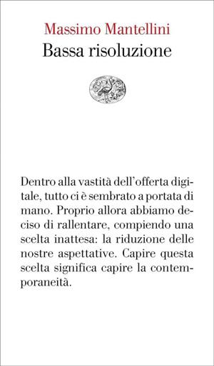 Massimo Mantellini - Bassa risoluzione