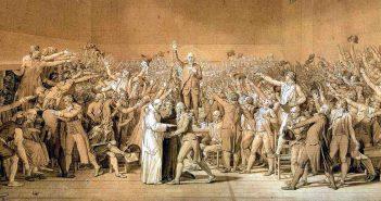 Jacques-Louis David, Giuramento della Pallacorda, 1791